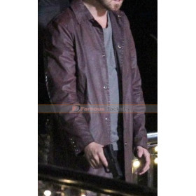 Central Intelligence Aaron Paul Leather Jacket