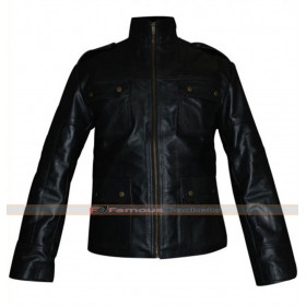 Cleanskin Sean Bean (Ewan) Black Leather Jacket