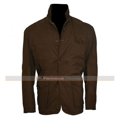Daniel Craig Skyfall James Bond Brown Jacket