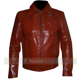 Daredevil Red Motorcycle Leather Jacket