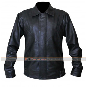 Michael Knight Rider David Hasselhoff Leather Jacket
