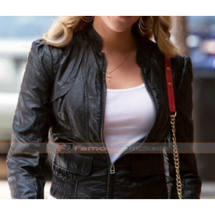 Don Jon Scarlett Johansson (Barbara) Leather Jacket