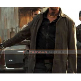 Logan 2017 Boyd Holbrook Leather Coat