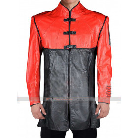 Farscape John Crichton Red Black Jacket Coat
