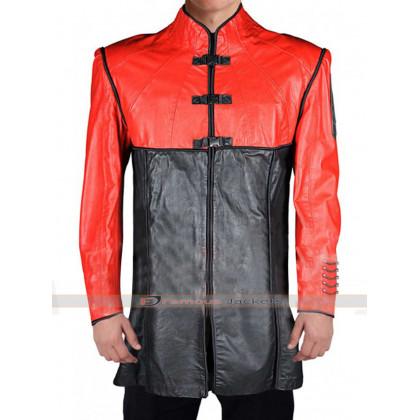 Farscape John Crichton Red Black Jacket Coat