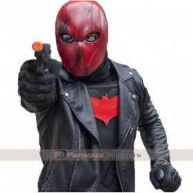 Jason Todd Nightwing Series Red Hood Biker Jacket