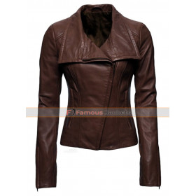 Marie Anderson Arrow Leather Jacket