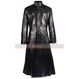 Matrix Reloaded Neo Trench Coat Halloween Costume