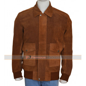 American Ultra Jesse Eisenberg Brown Jacket