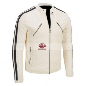 Need for Speed Aaron Paul Tobey Marshall White Jacket