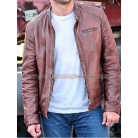 Andrew Overdrive Film Scott Eastwood Leather Jacket
