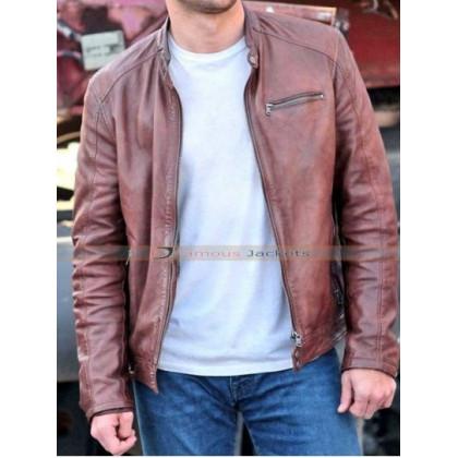 Andrew Overdrive Film Scott Eastwood Leather Jacket