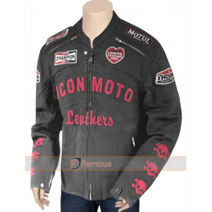 Planet Terror Cherry Darling Icon Moto Leather Jacket