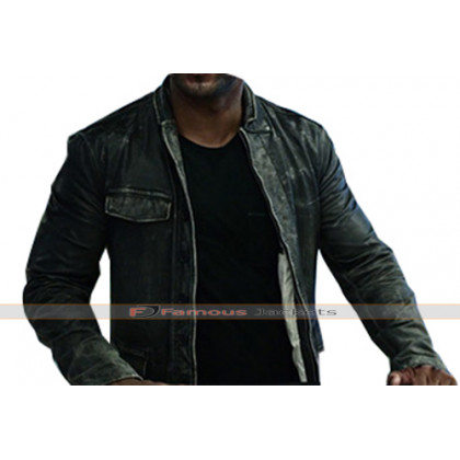 American Gods Shadow Moon Leather Jacket