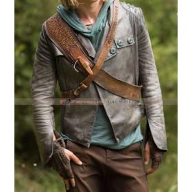 Austin Butler Shannara Chronicles Wil Ohmsford Leather Jacket