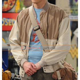 Big Bang Theory Sheldon Cooper Brown Jacket