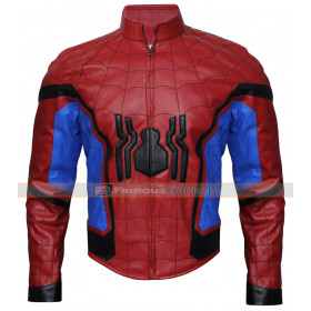 Tom Holland Spider-Man Homecoming Red Jacket