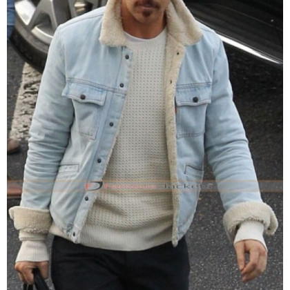 The Nice Guys Ryan Gosling (Holland March) Denim Fur Jacket