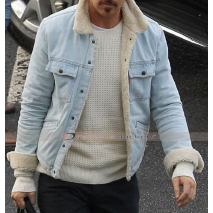 Nice Guys Ryan Gosling (Holland March) Denim Fur Jacket