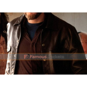 7 Days In Entebbe Wilfried Bose Daniel Bruhl Leather Jacket