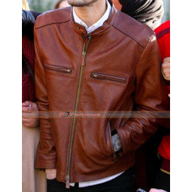 Zayn Malik Brown Leather Jacket