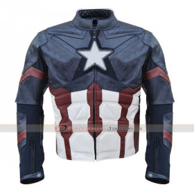 Captain America 2016 Civil War Chris Evans Jacket Costume