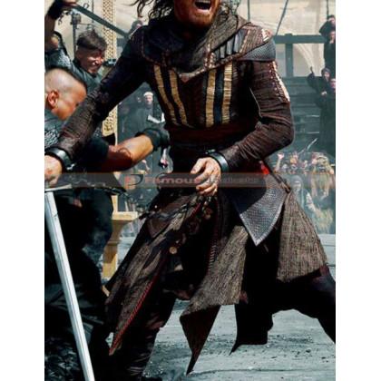 Aguilar Assassin's Creed Michael Fassbender Coat Costume