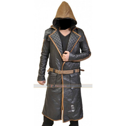 Assassin's Creed Syndicate Jacob Frye Trench Coat Costume Replica