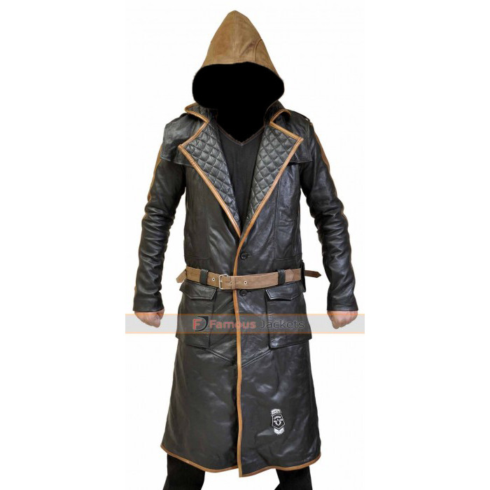 Assassins Creed Syndicate Jacob Frye Trench Coat Costume Replica