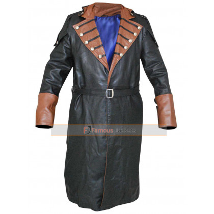 Assassin's Creed Unity Arno Dorian Trench Coat Costume
