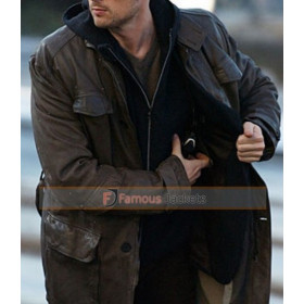 Bourne Supremacy Karl Urban (Kirill) Black Trench Coat Jacket