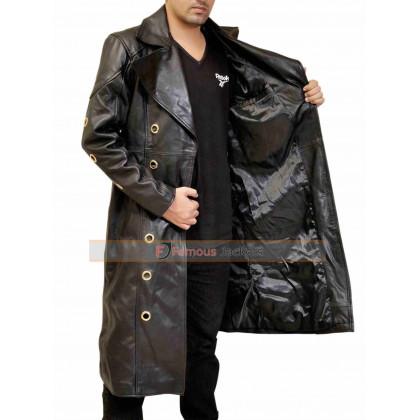 Adam Jensen Deus Ex Human Revolution Game Black Coat