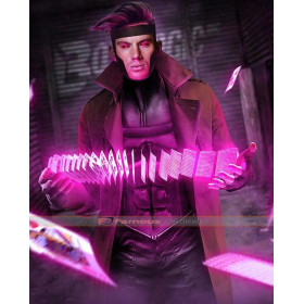 Gambit 2016 Remy LeBeau Trench Coat