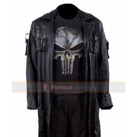 The Punisher Thomas Jane Leather Trench Coat For Sale