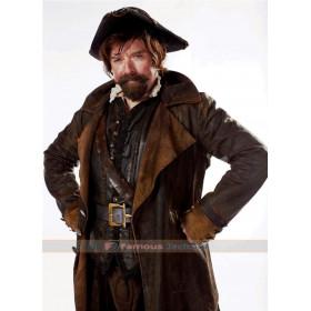 Doctor Who Sam Swift Leather Coat