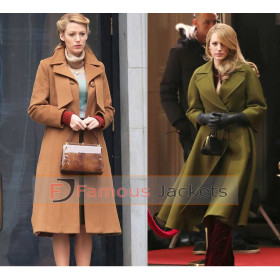 The Age of Adaline Blake Lively Trench Coat