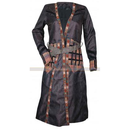 Clara Paget Black Sails S3 Anne Bonny Trench Coat