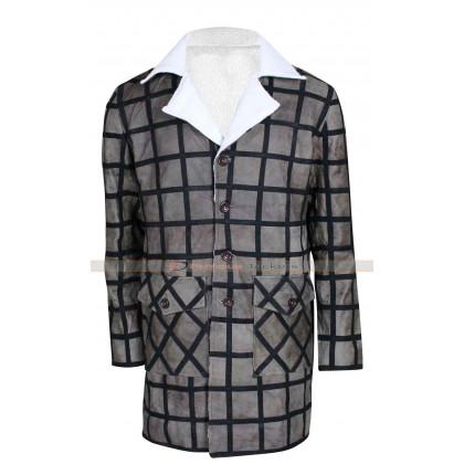 Django Unchained Jamie Foxx Winter Fur Jacket Coat