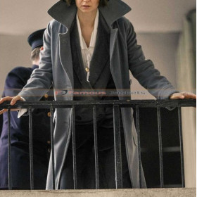 Tina Fantastic Beasts Katherine Waterston Grey Coat