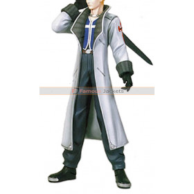 Seifer Almasy Final Fantasy VIII Trench Coat Cosplay Costume
