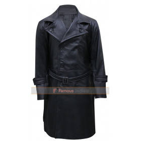 Karl Ruprecht Kroenen Hellboy Black Leather Coat