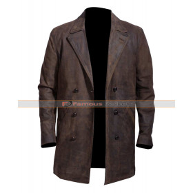John Hurt Doctor Who Leather Jacket Costume