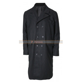 Johnny Depp Public Enemies Black Trench Coat