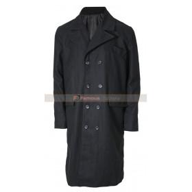Johnny Depp Public Enemies Black Trench Coat