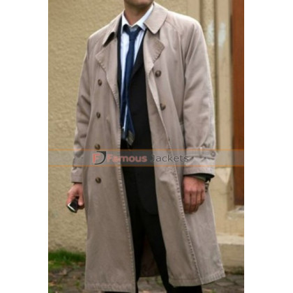 Angel Castiel Supernatural Long Coat