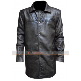 Rockstar Max Payne 3 Black Leather Coat