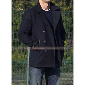 Scott Eastwood Black Wool Jacket