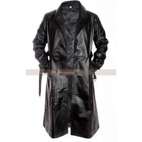Sin City Mickey Rourke (Marv) Trench Coat Leather Jacket