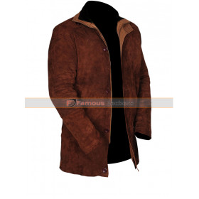 Longmire Robert Taylor (Sheriff Walt) Suede Leather Jacket