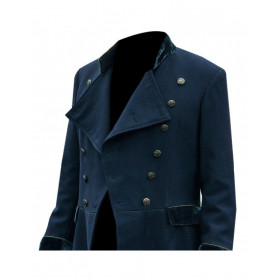 Zachary Quinto NOS4A2 Wool Coat